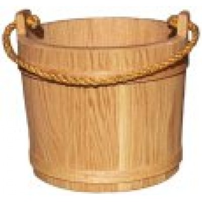Large Oak Bucket