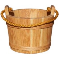 Medium Oak Bucket