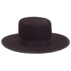 Amish Dress Hat - Flat Top