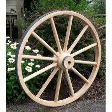 Heavy Wood Hub Wheels (4)
