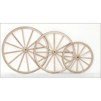 Regular Wood Hub Wheels