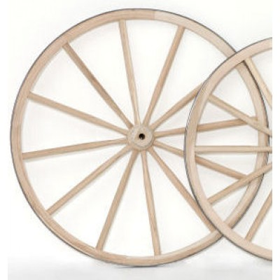 Regular Wood Hub Wheel - 24""